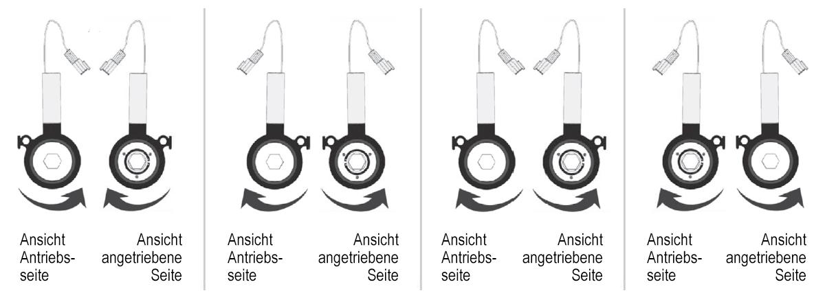Abschaltkupplung Varianten 1